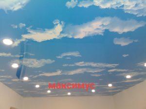 натяжные потолки с готовой фотопечатью
