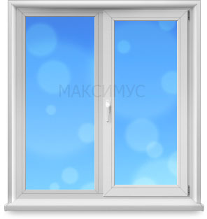пластиковое окно двойник