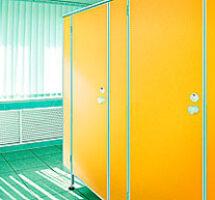 Легкие перегородки с дверьми