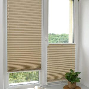 Заказать шторы плиссе на окна и двери.
